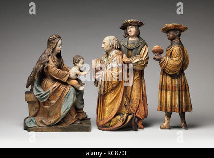 Virgin and Child, from an Adoration Group, Workshop of Hans Thoman, ca. 1515–20 - Stock Photo