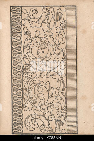 Ein new Modelbuch..., page 2 (verso), October 22, 1524 - Stock Photo