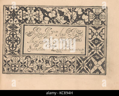 Drawings and Prints, Books Prints Ornament & Architecture, Ghirlanda: Di sei vaghi fiori scielti da piu famosi Giardini - Stock Photo