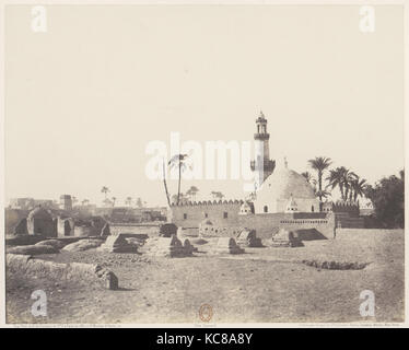 Souâdj, Cimetière Musulman et Tombeau de Mouràd-Bey, Félix Teynard, 1851–52, printed 1853–54 - Stock Photo