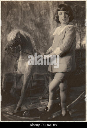 H.R.H. Prince Leopold and His Hobbyhorse, Frank Eugene, 1900–1908 - Stock Photo