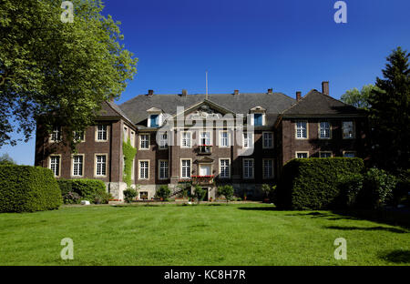 Castle Steinfurt, Drensteinfurt, North Rhine-Westphalia, Germany - Stock Photo
