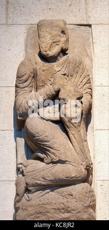 Sculpture of a Wise Man (from a Group with the Adoration of the Magi), ca. 1175–1200 - Stock Photo