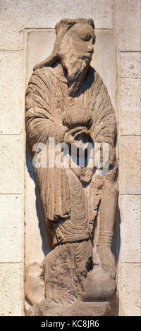Wise Man (from a group with the Adoration of the Magi), ca. 1175–1200 - Stock Photo