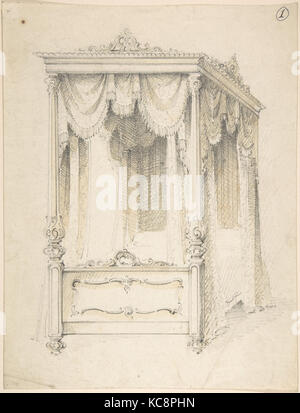 ... Design for Bed with a Canopy Charles Hindley and Sons 1841u201384 -  sc 1 st  Alamy & Design for a Bed with Canopy Charles Hindley and Sons 1841u201384 ...