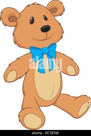 Teddy Bear with blue bow tie