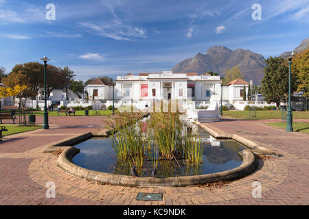 South African National Gallery, Company's Garden, Cape Town, Western Cape, South Africa - Stock Photo