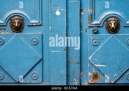 Details on the old Parisian door