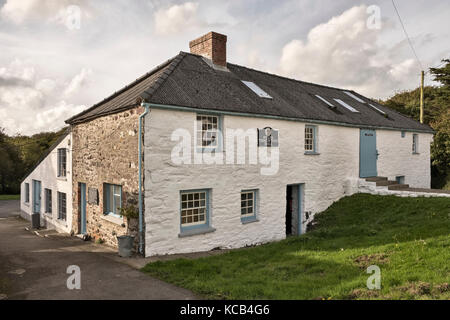 Melin Tregwynt, a traditional woollen mill and craft centre in Pembrokeshire, Wales, UK - Stock Photo