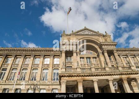 Birmingham, UK, October 3rd, 2017: Birmingham city council - Stock Photo