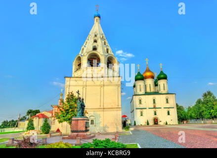 The Assumption Cathedral in Kolomna, Russia - Stock Photo