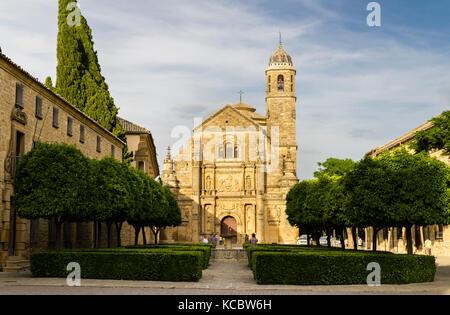 Capilla del Salvador, Saviour Chapel, Renaissance, Plaza Vázquez de Molina, Úbeda, UNESCO World Heritage Site, Andalusia - Stock Photo