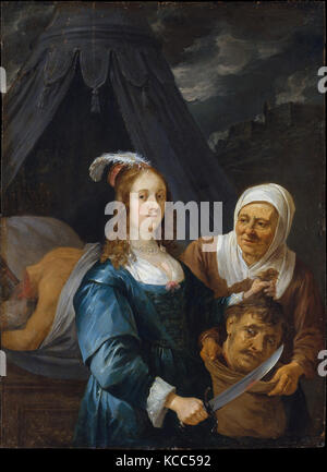 Judith with the Head of Holofernes, David Teniers the Younger, 1650s - Stock Photo