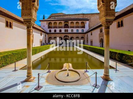 The Nasrid Palace - Stock Photo