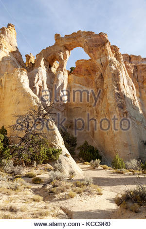 Grosvenor Arch, Grand Staircase-Escalante National Monument, Utah - Stock Photo