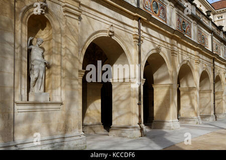 LYON, FRANCE, March 7, 2015 : The Museum of Fine Arts of Lyon (Musee des beaux-arts de Lyon) is a municipal museum - Stock Photo