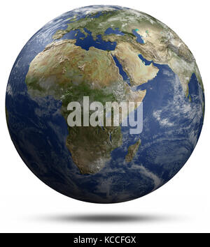 Planet Earth 3d rendering - Stock Photo