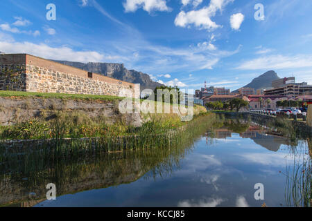 Castle of Good Hope, Cape Town, Western Cape, South Africa - Stock Photo