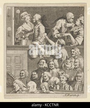 The Laughing Audience, After William Hogarth, ca. 1800 - Stock Photo