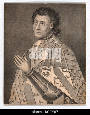 Drawings and Prints, Print, John Talbot, 1st Earl of Shrewsbury and 1st Earl of Waterford, Sitter, Publisher, Engraver - Stock Photo