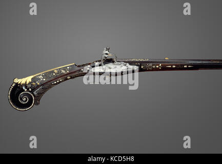 Flintlock Gun of Louis XIII (1601–1643), King of France, ca. 1620 - Stock Photo