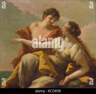 Bacchus and Ariadne, Giovanni Antonio Pellegrini, 1720s - Stock Photo
