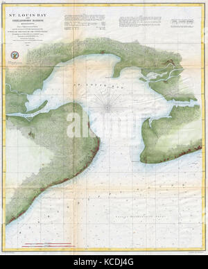 Map Of St Louis Stock Photo Royalty Free Image Alamy - St louis on us map