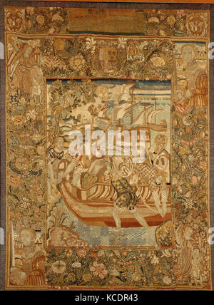The Ransom for Galcerán de Pinós put on Board Ship at Salou near Tarragona, late 16th or early 17th century - Stock Photo