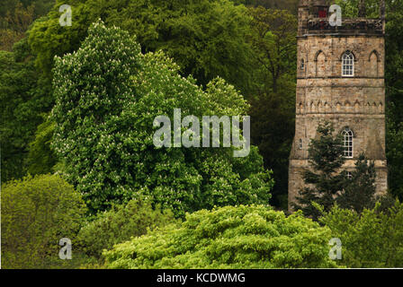 Culloden Tower, Richmond, North Yorkshire - Stock Photo