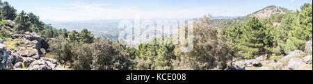 Paso del aire viewpoint in Sierra de Cazorla, Jaen, Spain - Stock Photo