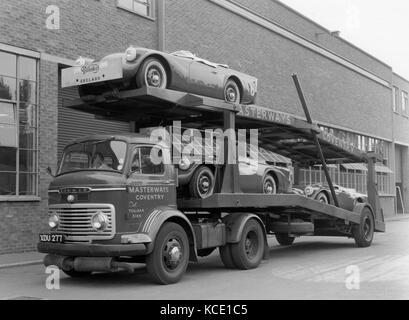 Daimler Dart SP250 for export 1960 - Stock Photo