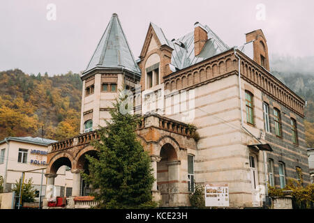 Borjomi, Samtskhe-Javakheti, Georgia - October 25, 2016: Borjomi Museum Of Local History At Autumn Day. - Stock Photo