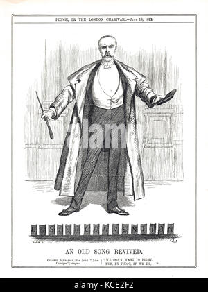 The Great Ulster convention of 17 June 1892 - Stock Photo