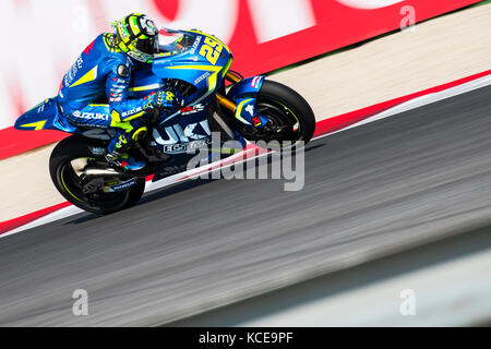 Andrea Iannone AI29 Misano, San Marino. 13th Sep, 2014. MotoGP. San Marino Grand Prix Qualifying sessions Credit: - Stock Photo