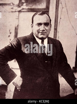 Enrico Caruso (1873 – August 2, 1921) Italian operatic tenor. Dated 20th Century - Stock Photo