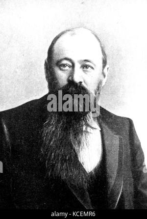 Martinus (or Marthinus) Theunis Steyn (1857 – 1916) was a South African lawyer, politician, and statesman, sixth - Stock Photo