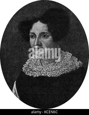 Elisabeth (Vietz), Schubert mother of Franz Peter Schubert (1797 – 1828) Austrian composer. - Stock Photo
