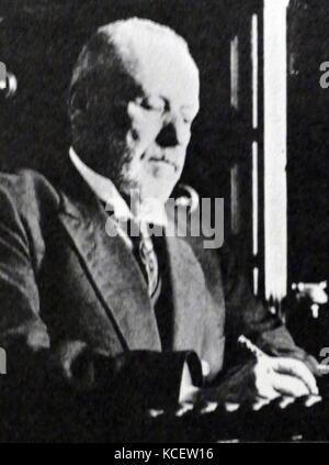 Mikhail Vladimirovich Rodzianko (1859 – 1924). Russian politician and statesman of Ukrainian origin. Chairman of - Stock Photo