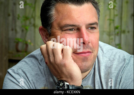 Bath RFC player Duncan Bell, who admits to suffering with depression. - Stock Photo