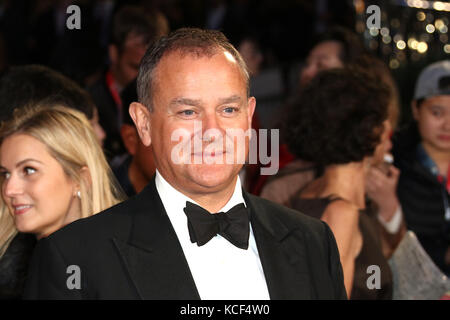 London, UK. 4th Oct, 2017. Hugh Bonneville, Breathe - BFI LFF Opening Night Gala, Leicester Square, London, UK. - Stock Photo