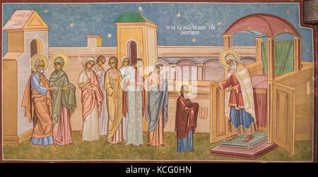 Presentation of Theotokos - Stock Photo