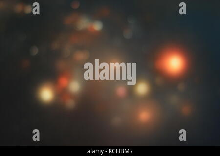 Abstract background with bokeh lights. Texture, defocused - Stock Photo