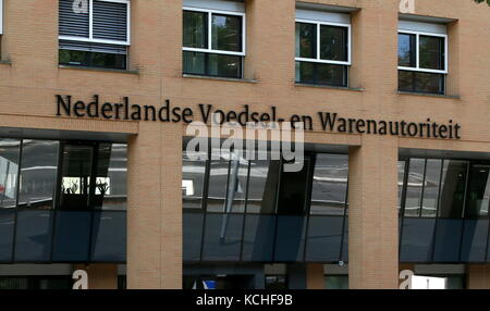 Head office of the The Netherlands Food and Consumer Product Safety Authority (Voedsel en Waren Autoriteit - NVWA - Stock Photo