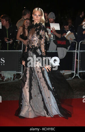 Sep 05, 2017 - Poppy Delevingne attending GQ Men of The Year Awards 2017, Tate Modern in London, England, UK - Stock Photo