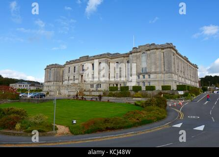 the National Library of Wales - Stock Photo
