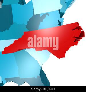 Geography Travel USA North Carolina Landscape Landscapes - North carolina usa map