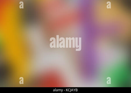 Abstract red magenta purple blue and yellow blur color gradient background for design concepts wallpapers web presentations - Stock Photo