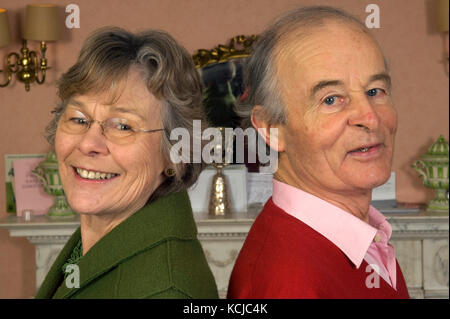 Jane & Robert Fearnley-Whittingstall, parents of Hugh Fearnley-Whittingstall. - Stock Photo