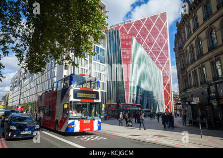 View of Victoria and the Nova Building at London SW1 - Stock Photo