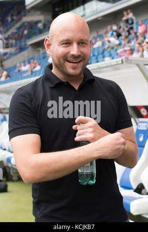 Sinsheim, GER - August 05, TSG Hoffenheim - FC Bologna, Saisoneröffnung, Rhein-Neckar-Arena . Im Bild: Direktor - Stock Photo